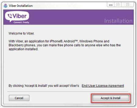 viber Accept & Install