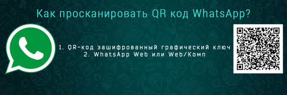 Сканирование QR кода в Ватсап