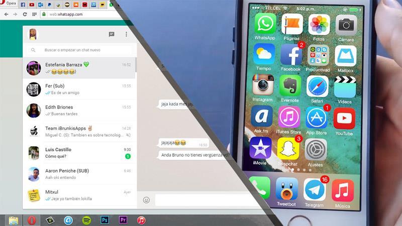 Whatsapp Web онлайн