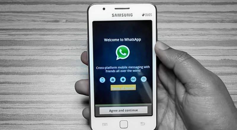скачать ватсап бесплатно на телефон самсунг