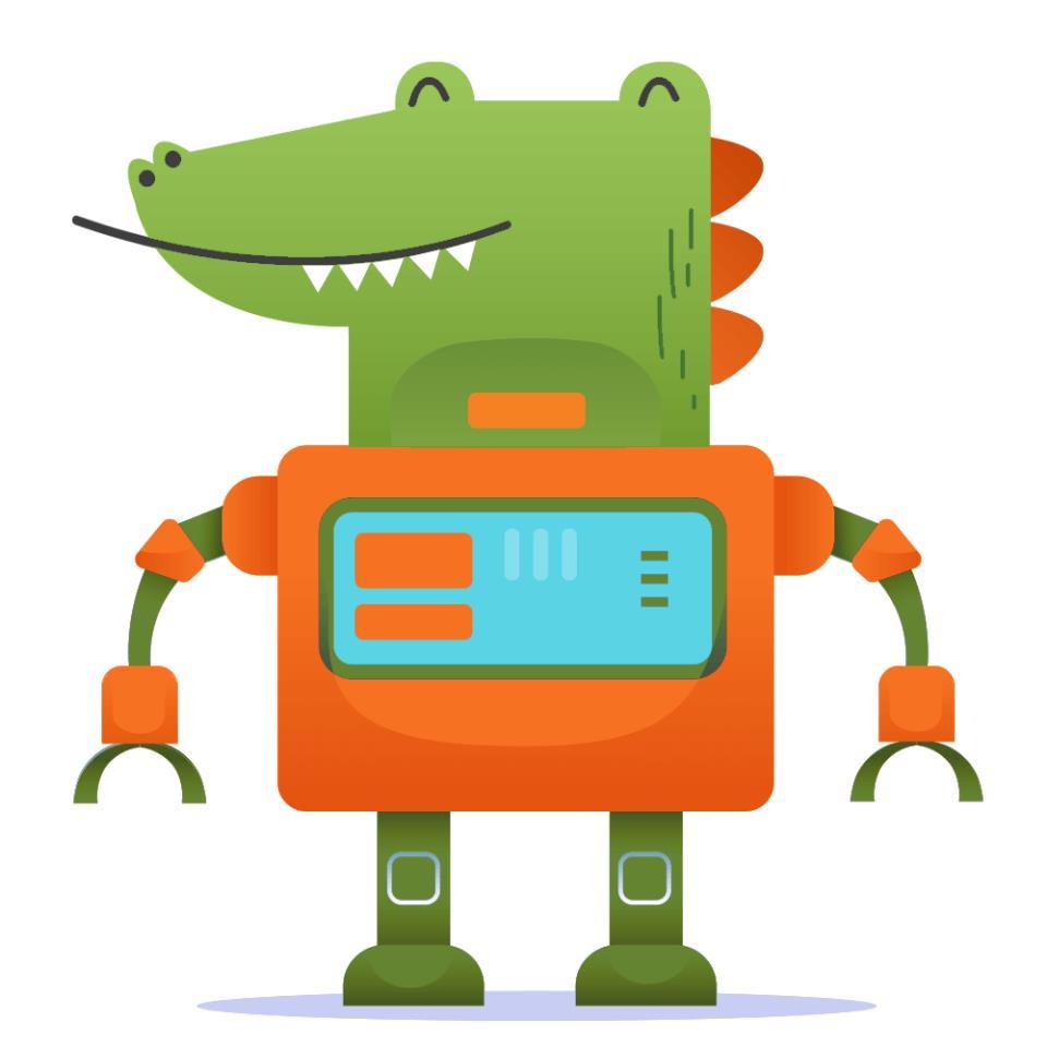 картинка: робот гена