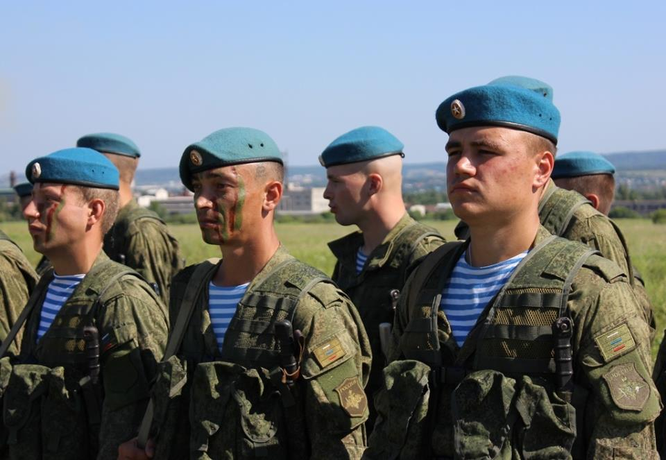 Военнослужащие 83-й бригады