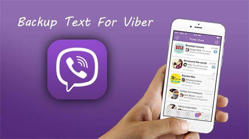 Резервное копирование в Viber