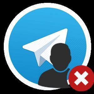 удаление аккаунта в Телеграм