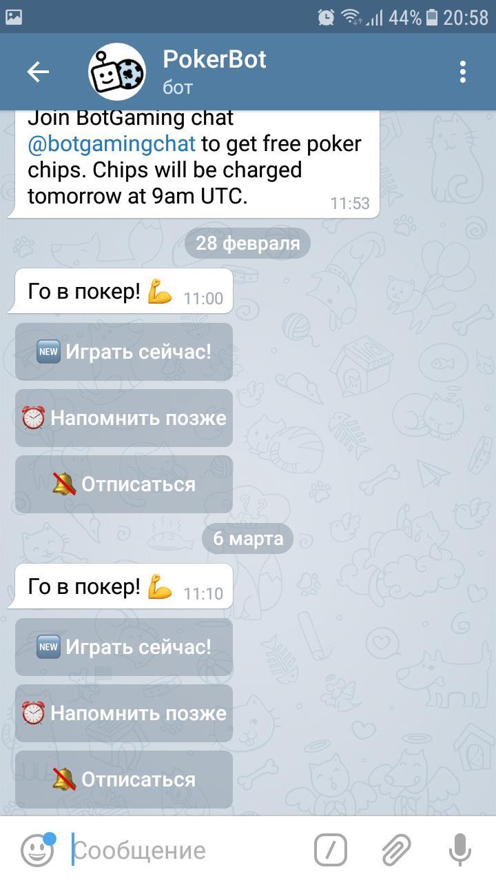 чат в Телеграмм