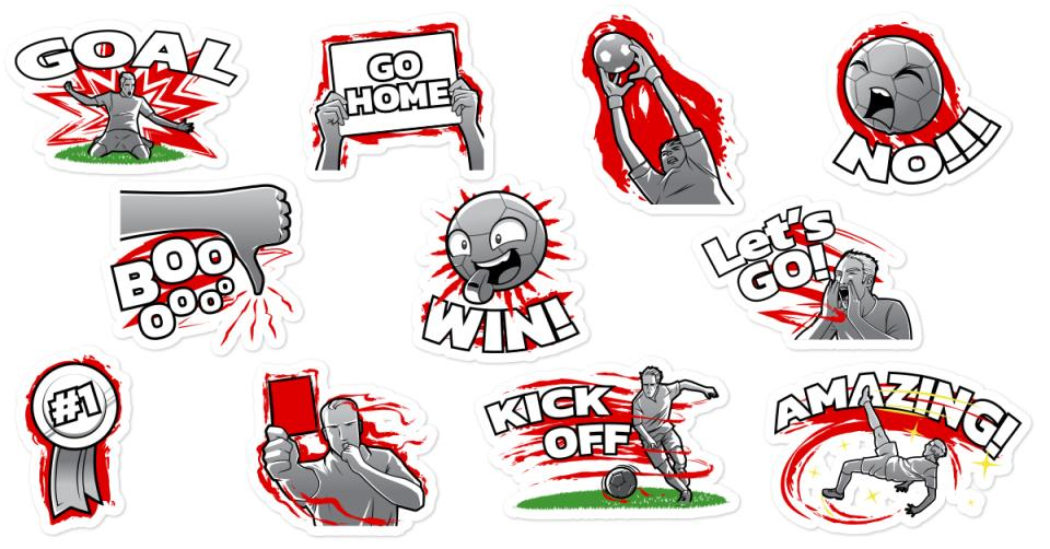 english generic sticker world cup