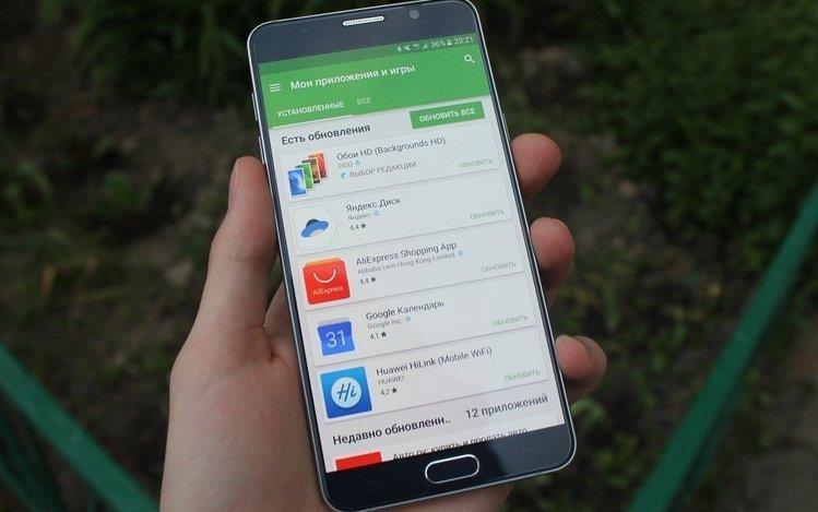 Как удалить обновление приложения на Android