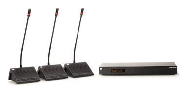 Дискуссионная система DIS DDS 5900 для видеоконференций в больших конференц-залах