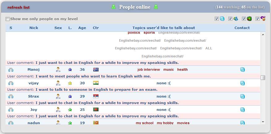 """Скрин. """"speaking24.com сайт для бесплатного изучения английского языка по скайпу с носителями"""""""