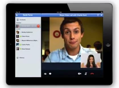Skype на iOS