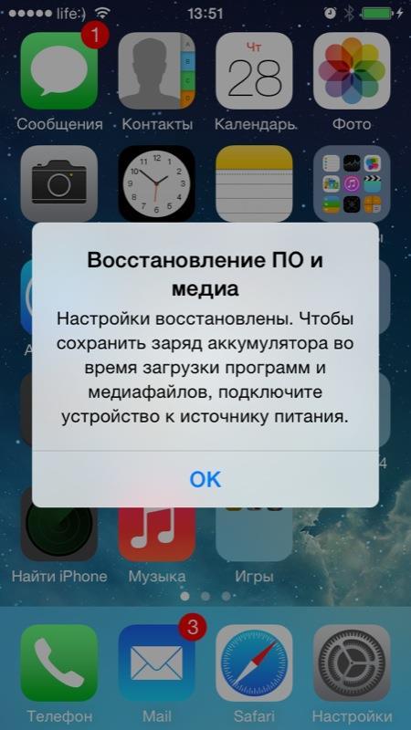удалились обновления айфон после с фото