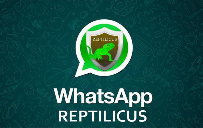 Программа Reptilicus для отслеживания whatsapp