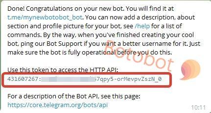 Персональный токен API