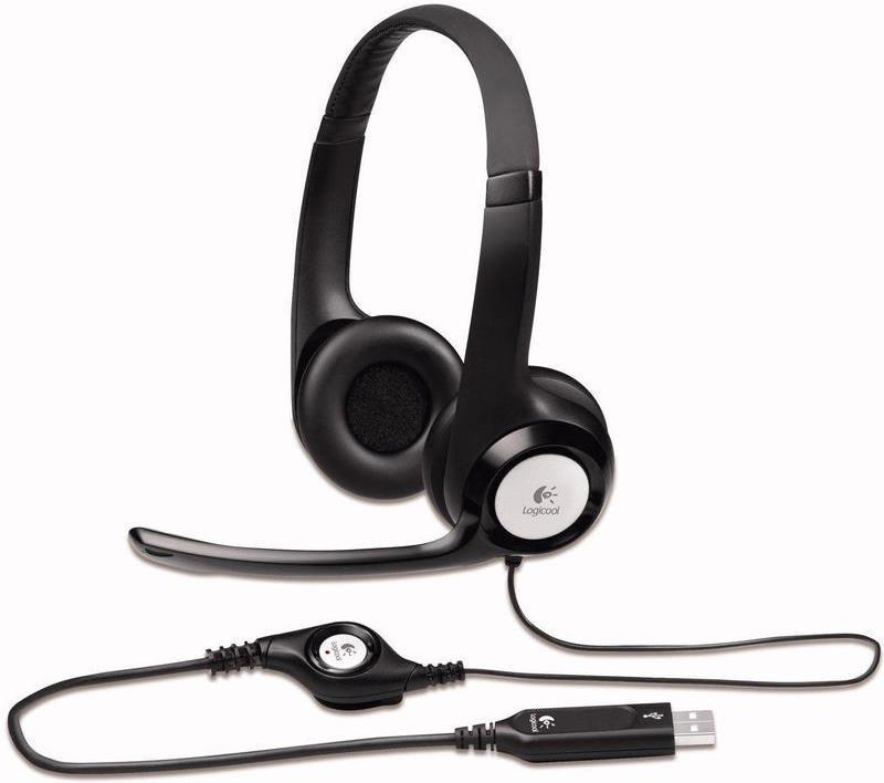 Logitech Stereo Headset H390 фото