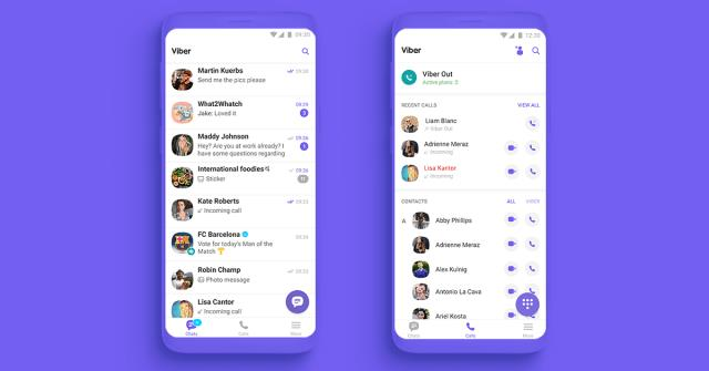 Viber-call-and-chat-list