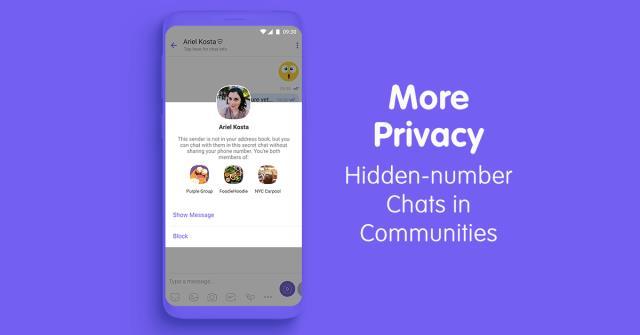 Viber-hidden-chats-communities