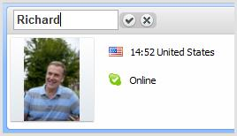 Список контактов Skype