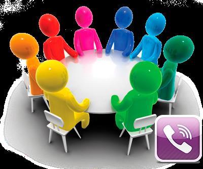 Работа с группами: как создать и найти или удалить группу в Viber