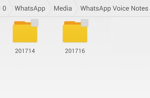 Иллюстрация на тему Для чего нужны папки Voice Notes и Sent в мессенджере WhatsApp
