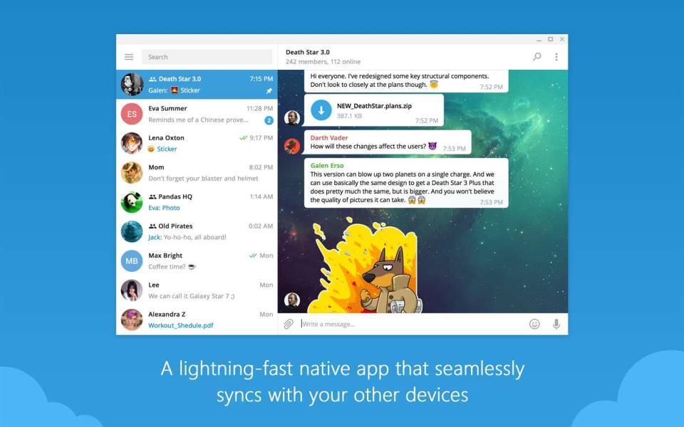 telegram скачать на пк windows 10