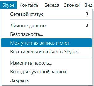 Скайп вход моя страница
