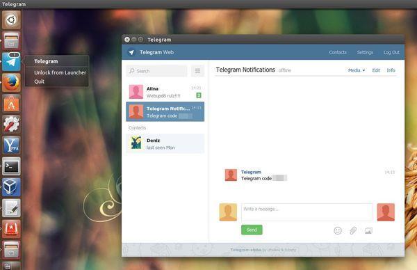 скачайте для telegram под linux install и настройте по нашей инструкции