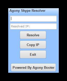 Интерфейс программы Skype Reslover