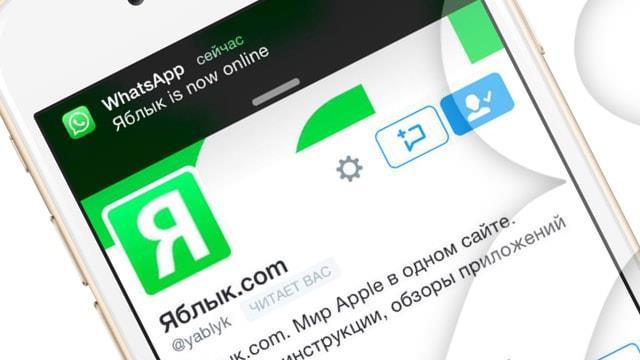 Твик OnlineNotify - уведомления о действиях конкретного пользователя в WhatsApp