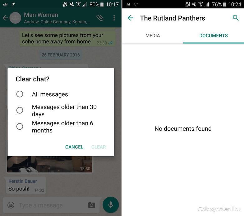 Две новые функции в WhatsApp были добавлены относительно недавно