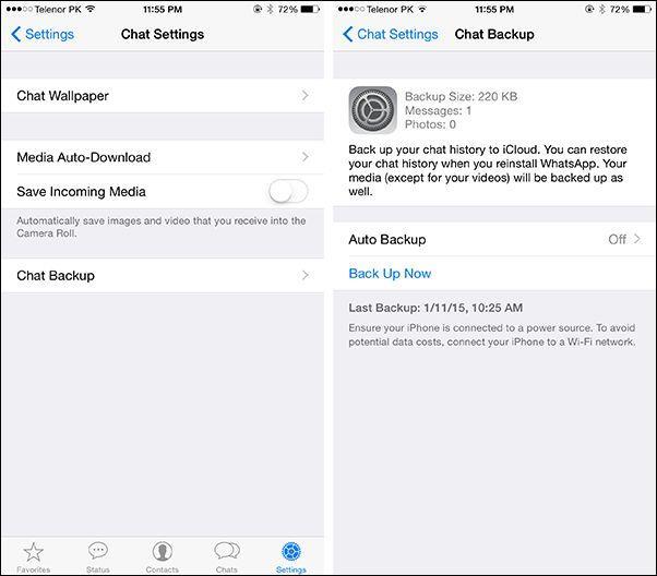 Как перенести WhatsApp с iPhone на Android