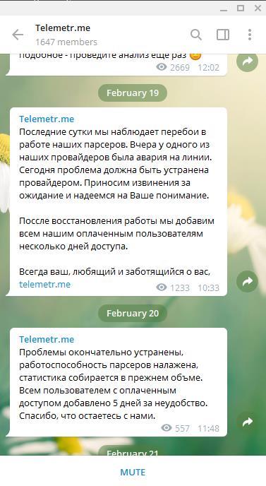 официальный канал Телеметр
