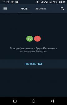 Challegram на Андроид
