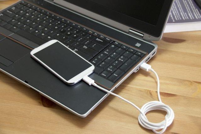 Рис.9 – подключение смартфона к ПК
