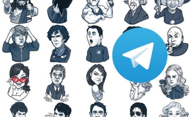 стикеры в Телеграм
