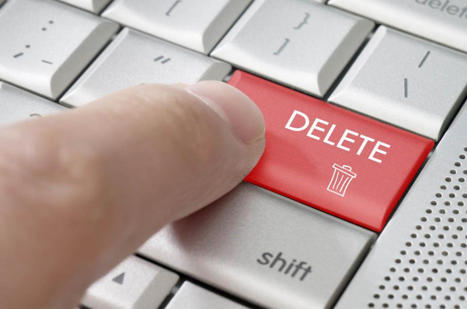 Клавиша Delete