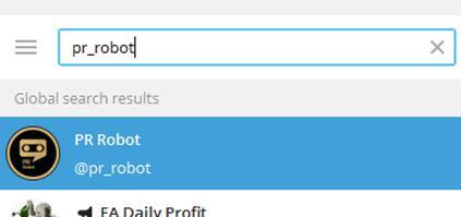 @pr_robot - это бот для продвижения каналов в Телеграм