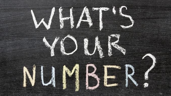 Какой твой номер?