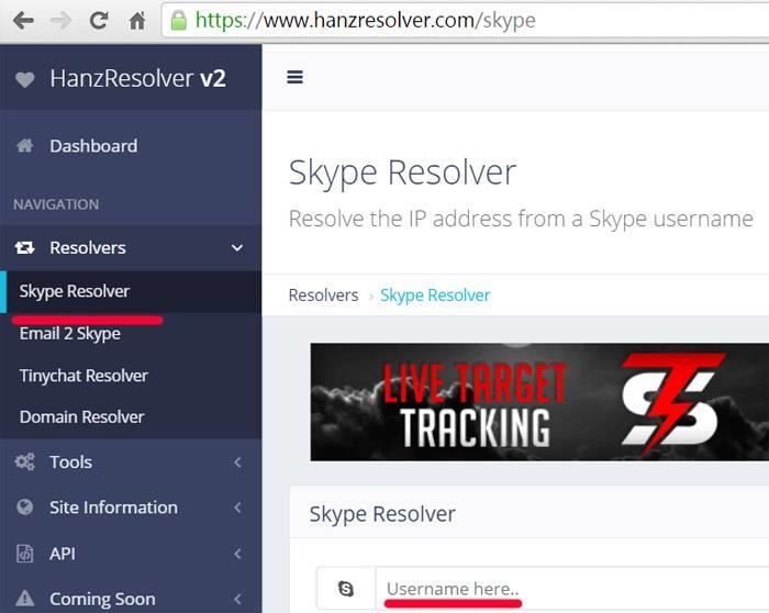узнать IP-адрес пользователя через Skype
