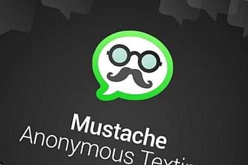 Mustache Anonymous Texting