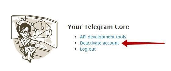<Рис. 5 Деактивация>«></div> <p> <span>7</span>Далее <strong>появляется поле Why are you leaving?</strong> (Почему Выуходите?). Внемвы, при желании, можете указать причину, покоторой хотите перестать использовать Телеграмм вцелом или этот аккаунт вчастности (можно причину инеуказывать); </p> <p> <span>8</span>Теперь нажмите <strong>Готово (Dоne</strong>); </p> <div class=